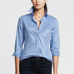 Banana Republic Non-Iron Fitted Button Down Shirt